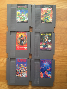 Original Nintendo Games