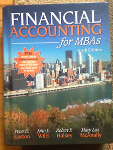Financial Accounting for MBAs 6th edition