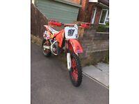 Honda cr125 enduro motocross swap or sell