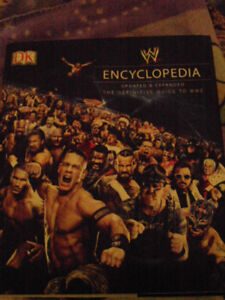 wwe encyclepedia mint cond a very expensive thick book