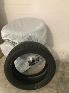4 pneus d'hiver (winter tires ) Nokian Hakka 8 SUV 255/45R20
