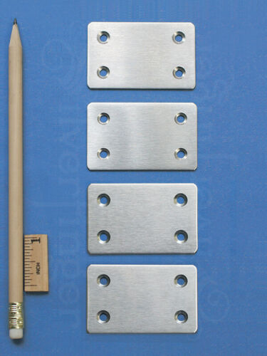 MENDING PLATE Joining Bracket Support Brace Flat Stainless Steel Metal Connector