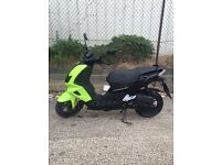 65 plate Peugeot speed fight 4 50cc moped