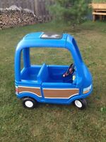 Little times cozy coupe (van and truck)