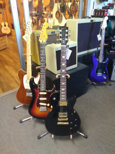 Sweet deals on used electric guitars!