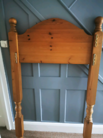 Solid pine High sleeper bed