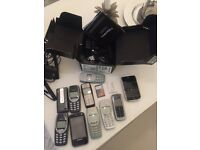 LARGE COLLECTION OF VINTAGE PHONES