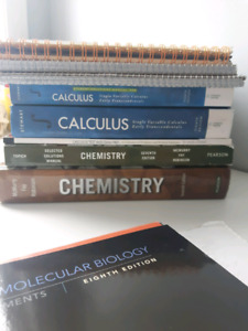 UofT textbooks & notes (calculus, biology, chemistry, psych)