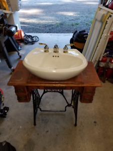 sink and stands