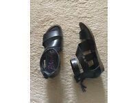 Blowfish gladiator sandal