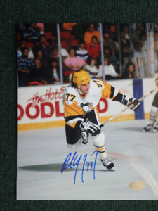 PAUL COFFEY Pittsburgh Penguins Autographed 8x10 Photo W/COA