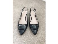 M&S Collection Sling-back shoes size 8