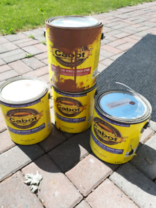 Cabot Deck and Fence Stain