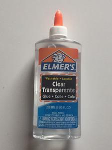 Elmer's Washable Clear School Glue-School Glue, Washable, 9 oz.