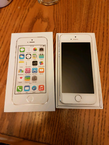 iPhone 5S - 16 GB - White - Bell/Virgin