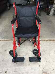 Transport chair and walker