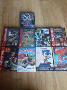 Sega Genesis CIB games and manuals Kitchener / Waterloo Kitchener Area image 1
