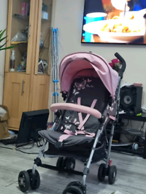 Silver Cross Stroller with Rain cover