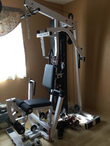 Bodysolid weight training machine