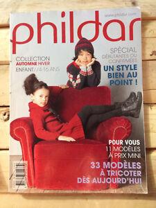 Livres patrons tricots Phildar