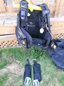 Scuba gear (BC) only used 5 times!
