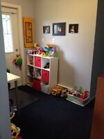 Childcare available--birth to 5 years old