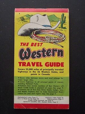 1959 The Best Western Travel Guide