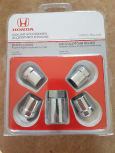 Honda Locking Wheel Nuts Odyssey, Pilot, Ridgeline