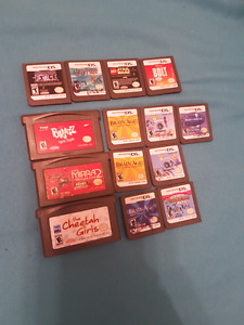 GBA and DS games