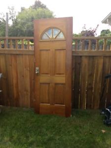 Vintage Solid Wood Door