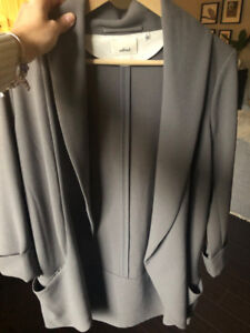 Wilfred Chevalier Jacket/Blazer, Size 8, Grey
