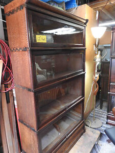 antique barrister (sectional) bookcase circa 1900 REDUCED