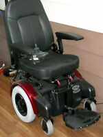 NEW POWER WHEEL CHAIR SHOPRIDER  LARGE WHEELS & SEAT P424L
