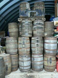 $120.00 Oak Whiskey Barrel, $70.00 Oak Planters $3-$7.00 Staves Kingston Kingston Area image 5