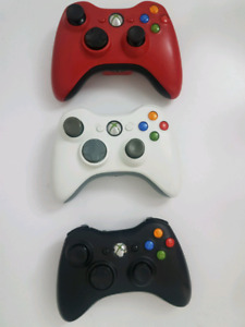 Xbox 360 Wireless Controllers,Various  colors. Please see pics.