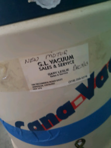Central vacuum in great working condition