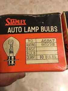 Vintage NOS Stanley Auto Lamp Bulbs, Motorcycle Regina Regina Area image 3