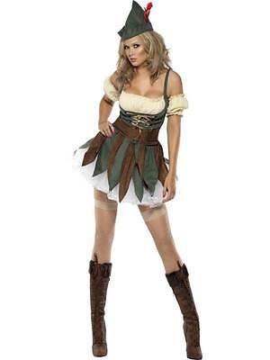 STUME, FANCY DRESS, SEXY, MEDIEVAL, XS 4-6, WOMENS (Outlaw Kostüme)