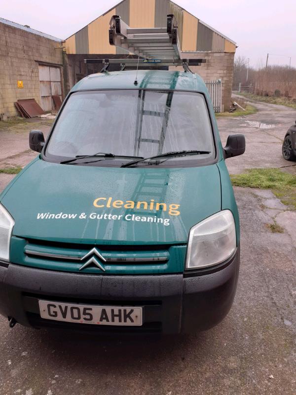 Window Cleaning Van Citroen Berlingo