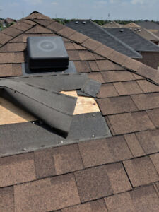 \ Get your ROOF LEAK fixed or MISSING SHINGLES replaced today /