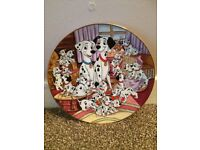 Kenley's collectable Disney plate- 101 Dalmatians