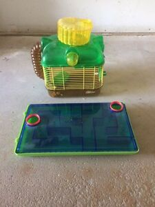 Hamster cage and maze