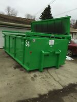 Disposal bin rental & junk removal services