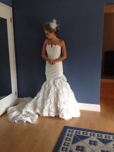 Jasmine Couture T440 Wedding Dress Stratford Kitchener Area image 3