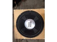 JBL SUBWOOFER & FREE AMP