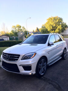 2015 Mercedes-Benz M-Class AMG ML63 SUV, Crossover