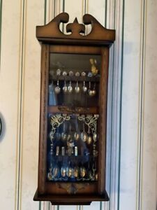 SPOON COLLECTIONS + DISPLAY SHELF/CABINET