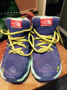 Youth North Face practically new runners, size 3