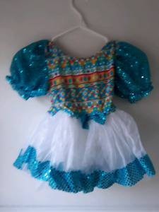 Dance costume age 6 to 8 years