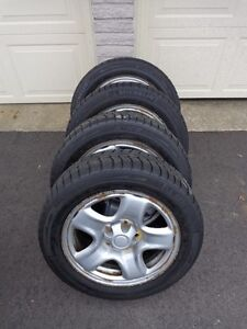 Michelin X-ICE 205 55R16 on Toyota Rims